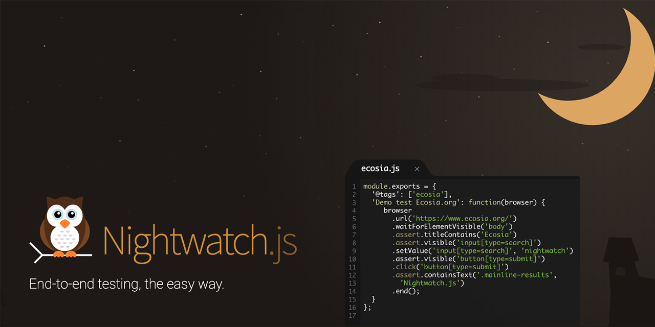 Updates on Nightwatch.js and the Nightcloud.io service